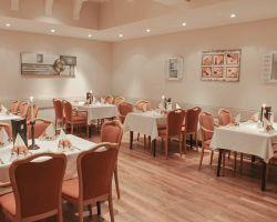 Restaurant Goldene Gans Innenansicht des Restaurants